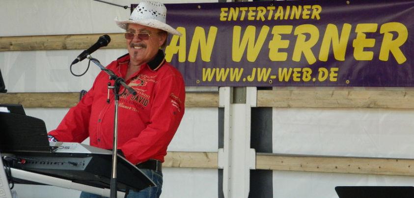 Entertainer Jan Werner - Einzigartig seit Jahren