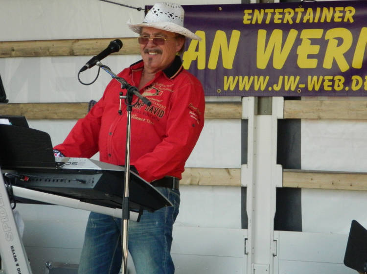 Entertainer Jan Werner